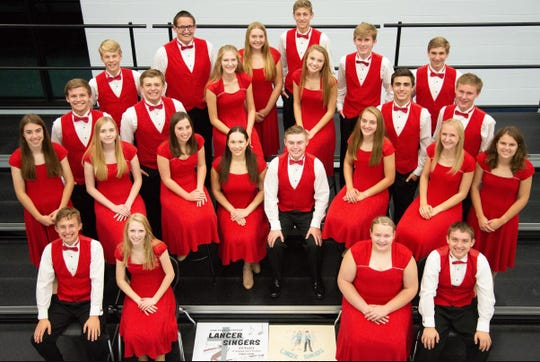 The 24-voice Manitowoc Lutheran High School Lancers Singers recently received an Exemplary Performance Award from the Wisconsin School Music Association State Music Festival at UW-Green Bay for its performance in the vocal jazz ensemble category.