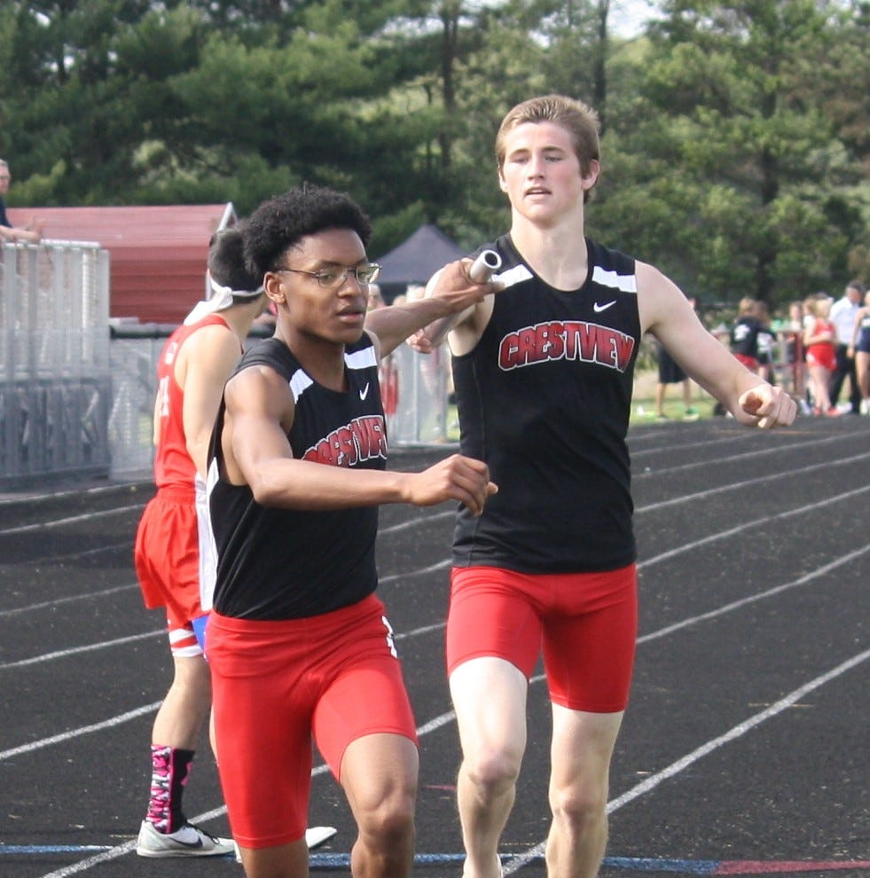 Early impact: Crestview off to fast start in district track