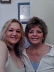 Allison Pennington, left, lost her mom Julie Pennington to a fatal drug overdose last year.