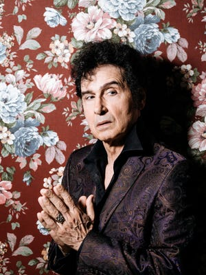 """Forty years of rock, blues and """"art damage"""": Tav Falco."""