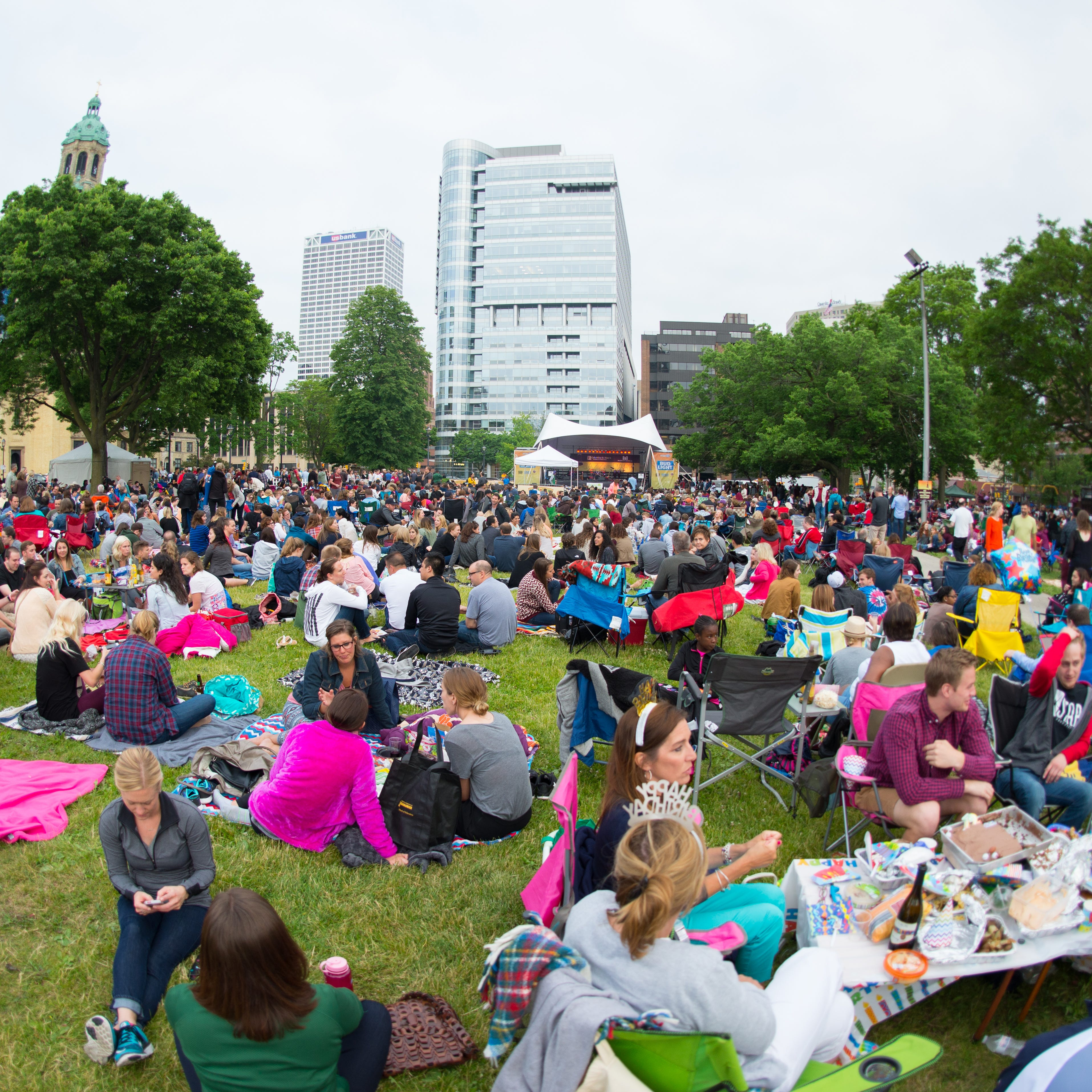 Free outdoor concerts and music series in the Milwaukee area in the summer of 2019