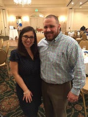 Tzlil Bandy McDonald, executive director of the Jewish Federation of Central Alabama, and her husband Nathan.