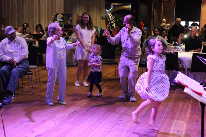 Adults and children dance the night away at the 2018 Israel Fest, held at The Warehouse at Alley Station in Montgomery.