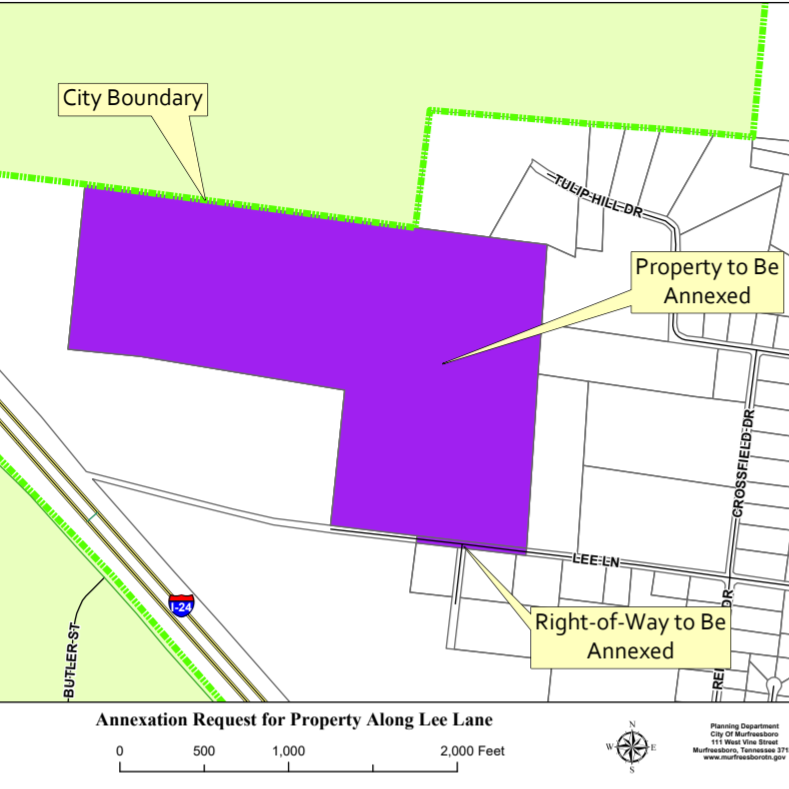 Headquarters, factory developer seeks 85 more acres in Murfreesboro