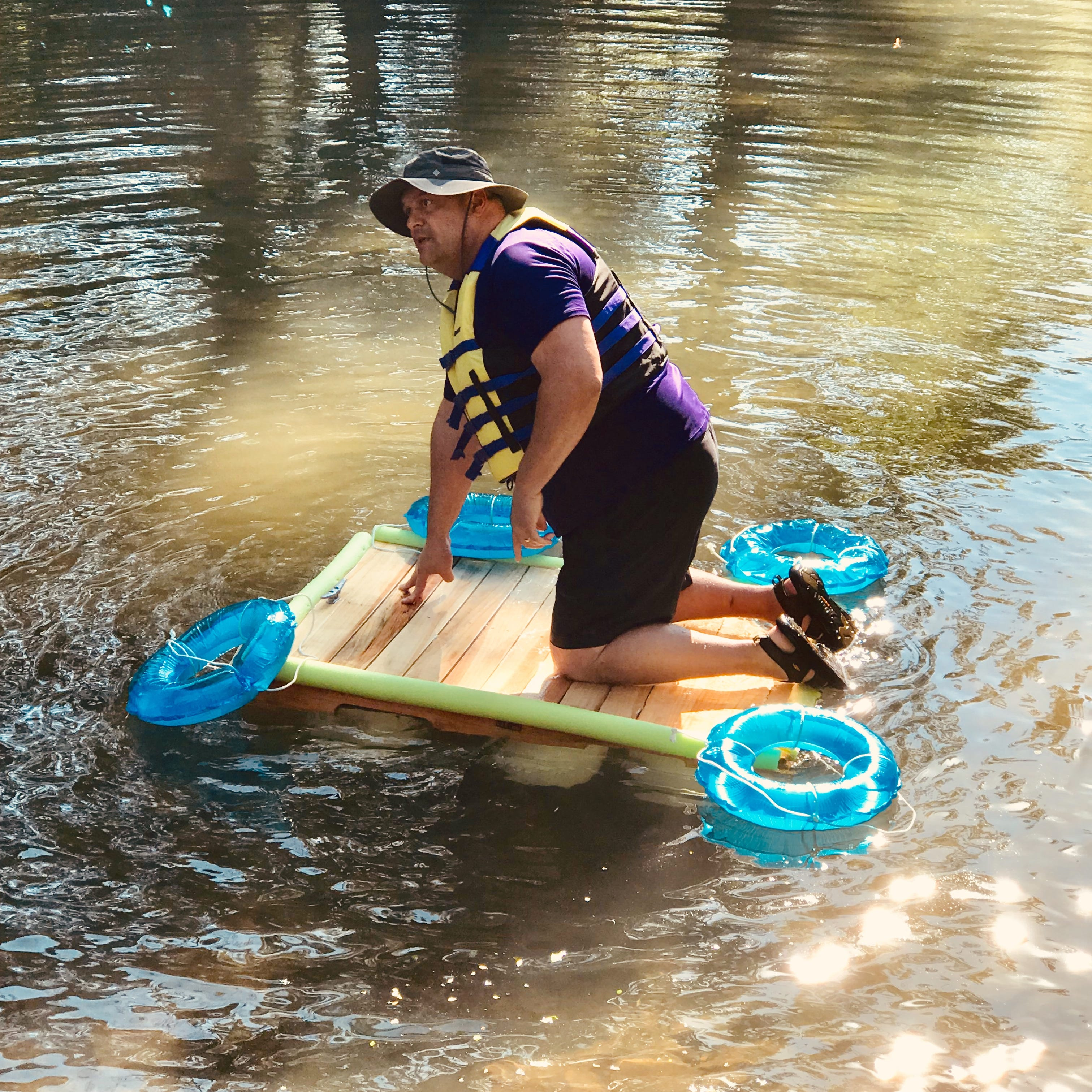 Overall Creek principal sets sail on boats built by students