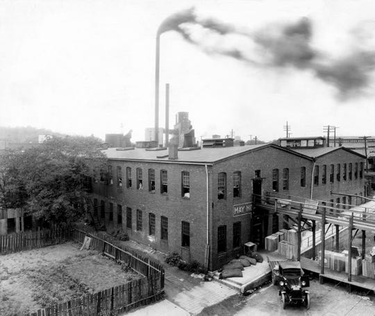 May Hosiery Mill in Nashville, TN. Date unknown.