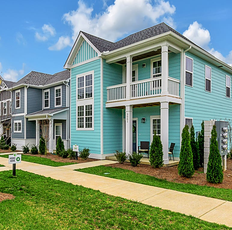 Waterford Village in Hendersonville offers floor plans that are just the right size
