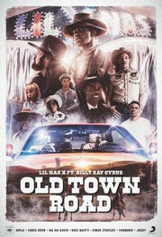 """Old Town Road"" movie poster."