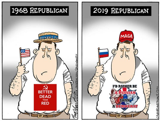 GOP and Russia: 1968 and 2019