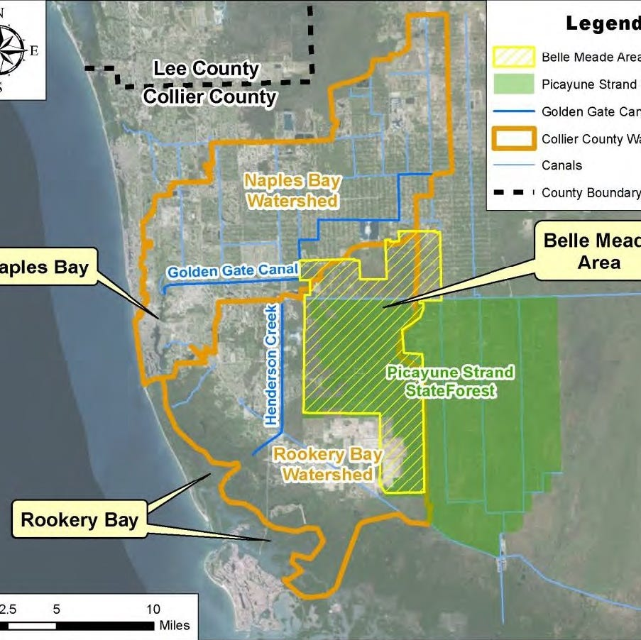 Collier's watershed restoration project met with questions, concerns by residents