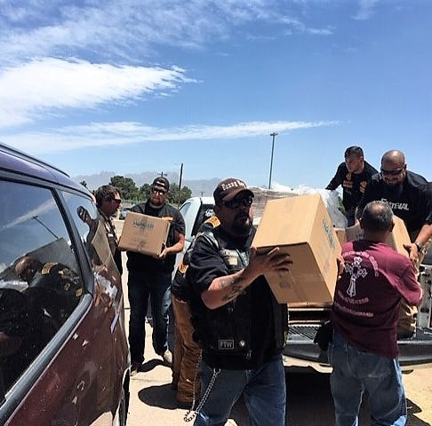 Bikers bring 30,000 meals to Las Cruces facility assisting migrants