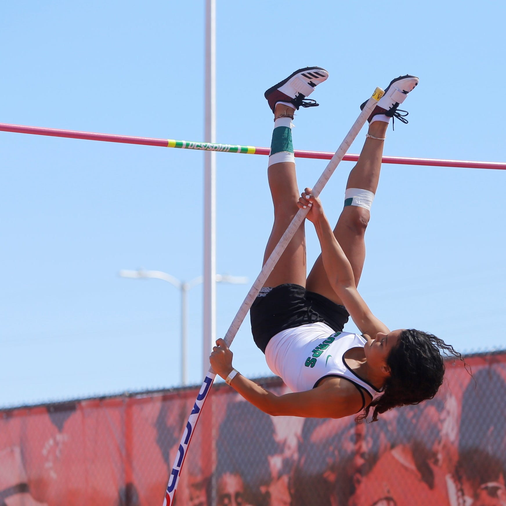 Quezada three-peats in state pole vault, but it soon becomes formality