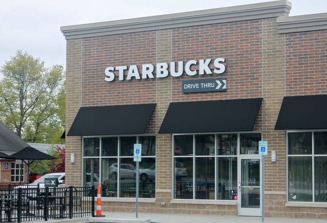Starbucks has relocated its store to the south side of Milford. The new store opened May 16.