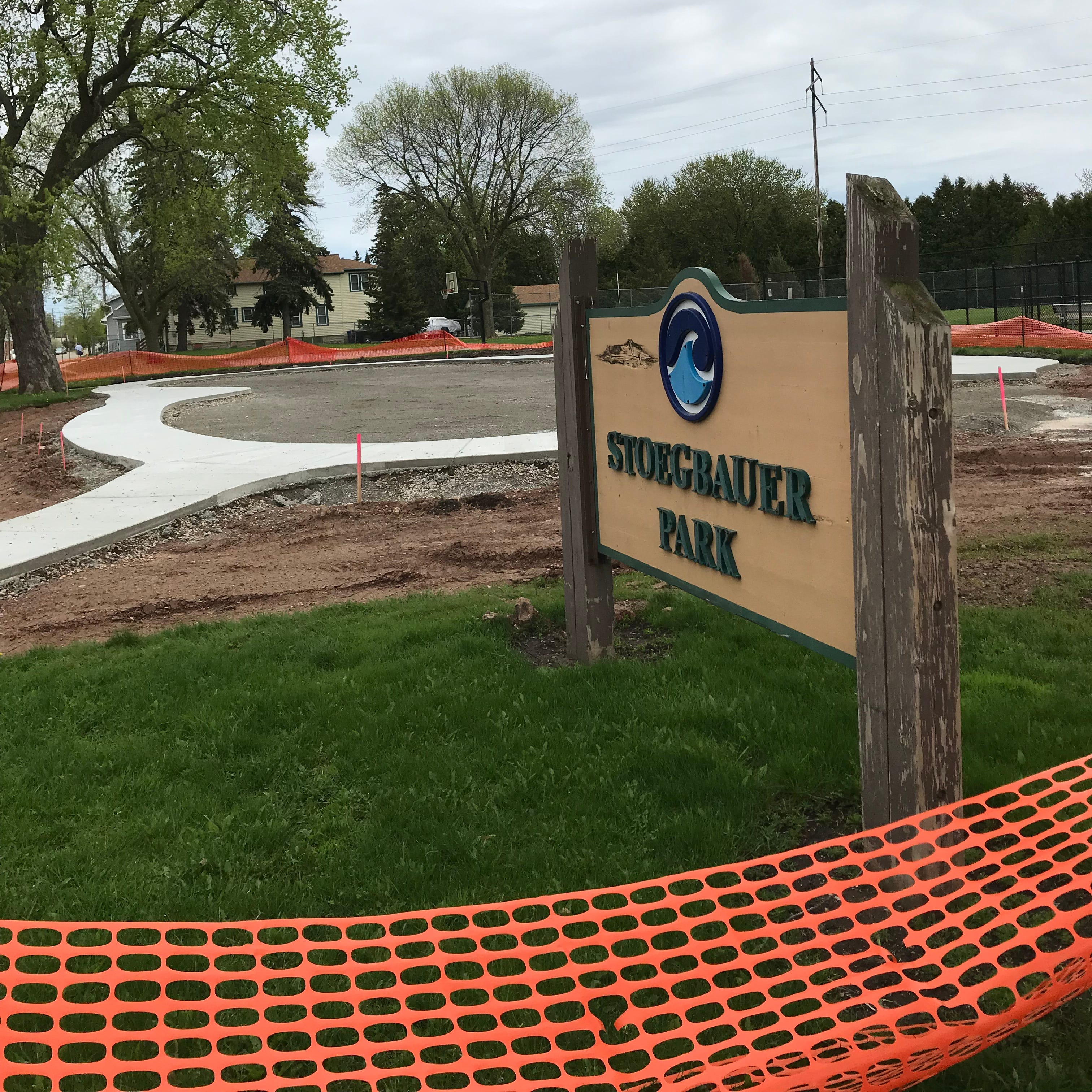 Summer renovations take over two Oshkosh parks, promising new playground, youth baseball