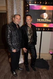 Steve Tobin and Johnny Krupa of The Grace Helen Spearman Foundation at the United Way Disco Ball  at the Westin Mission Hills Resort and Spa in Rancho Mirage on Friday, May 10, 2019.