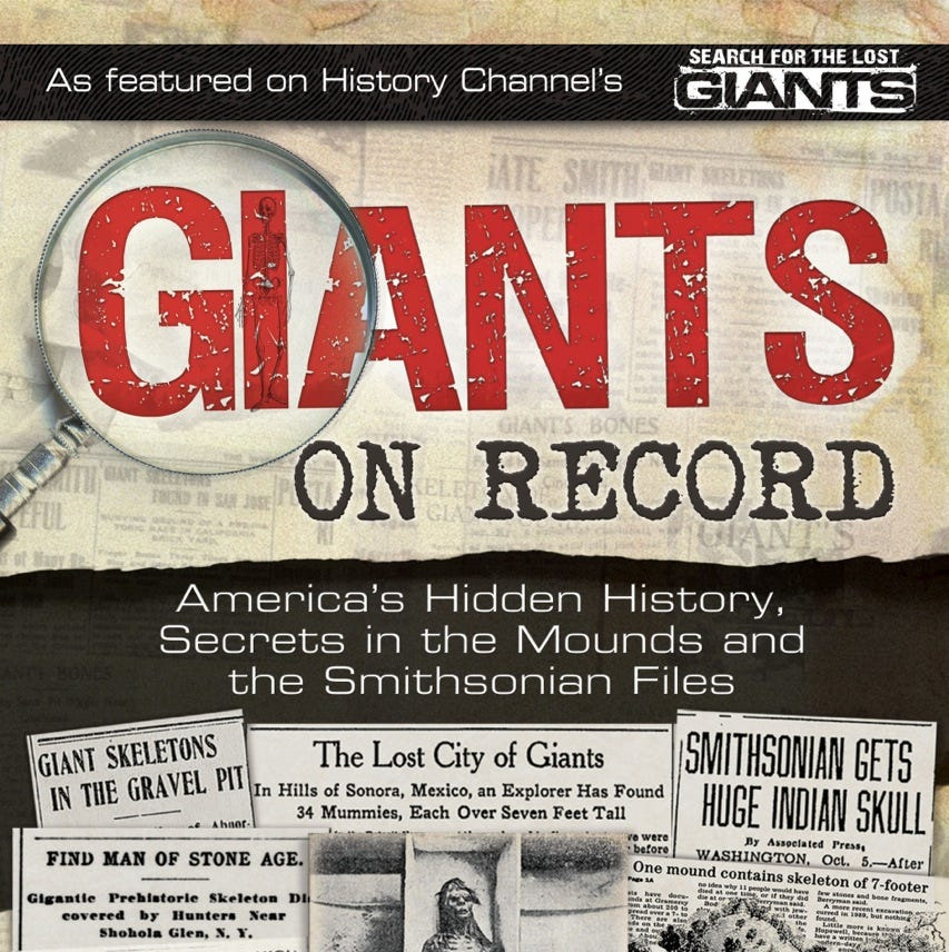Did 14-foot giants exist? Did they differ from humans? Author explores these ancient beings