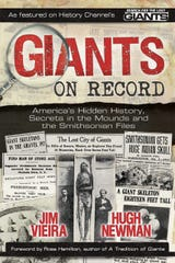 "Hugh Newman, author of the book, ""Giants On Record,"" will discuss the prevalence of ancient giants Friday, May 31 at Contact in the Desert in Indian Wells."