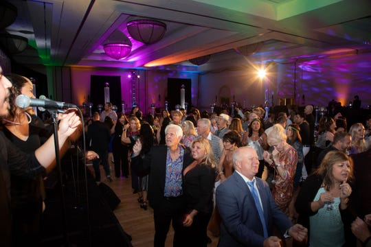 Guests enjoying the Citrus College Night Shift Orchestra at the United Way Disco Ball  at the Westin Mission Hills Resort and Spa in Rancho Mirage on Friday, May 10, 2019.