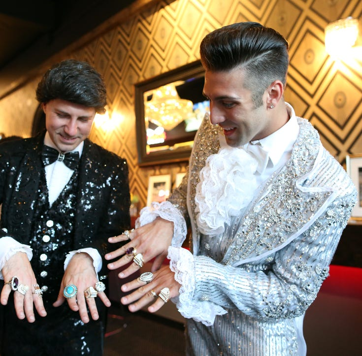 Liberace fans congregate in Palm Springs for late entertainer's 100th birthday
