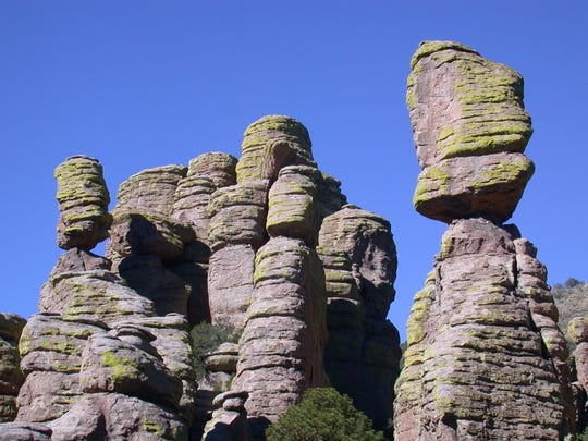 Chiricahua National Monument offers great hiking opportunities.