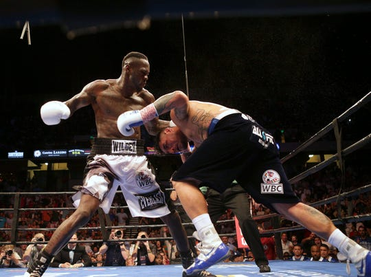 Deontay Wilder fights Chris Arreola on July 16, 2016.