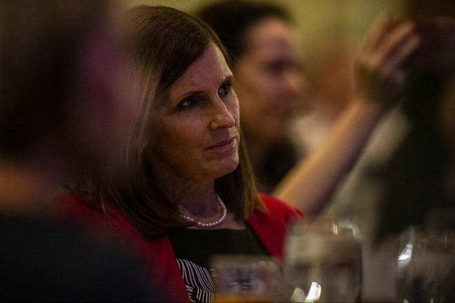 U.S. Sen. Martha McSally listens during an event hosted by the Arizona Chamber of Commerce and Industry on May 17, 2019.