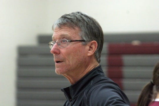 Keith Diebler is Danbury's varsity boys basketball coach.
