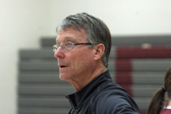 Keith Diebler is Danbury's varsity boys basketball coach.