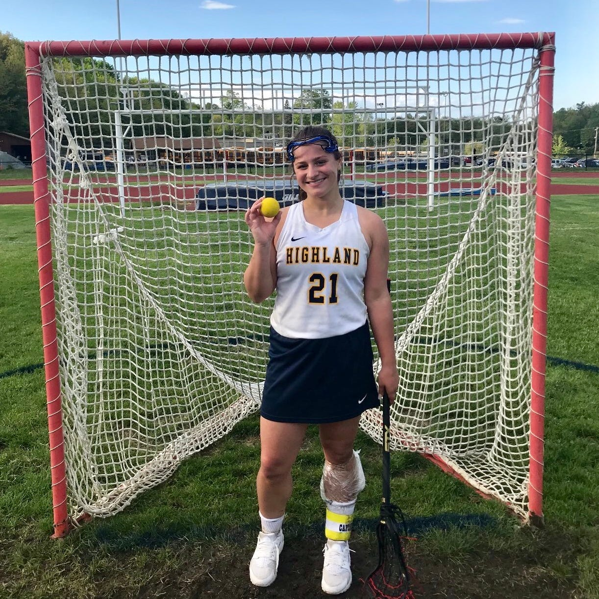 Fino breaks a girls lacrosse state record as Highland nabs playoff spot
