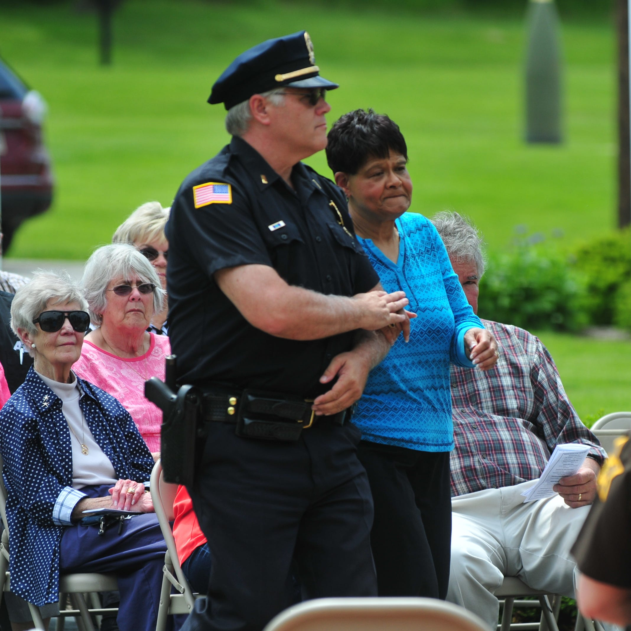 Families appreciate chance to honor former peace officers, see they're remembered