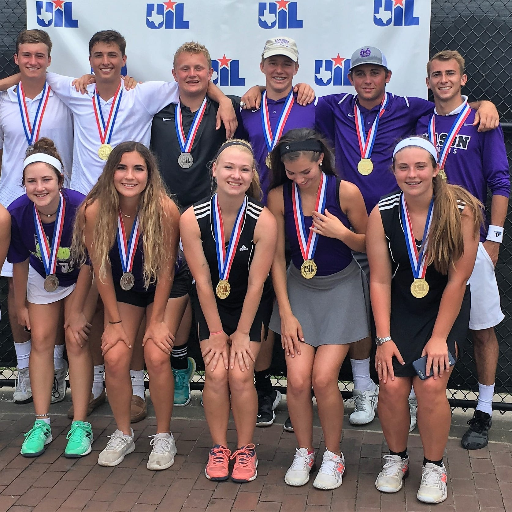 UIL STATE TENNIS: Mason hits century mark with all-time titles