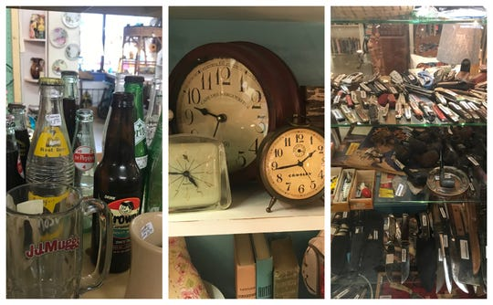 Concho Confetti Antiques Mall, 42 E. Concho Ave., is a great place to find gifts with a wide-assortment of collectible offerings.