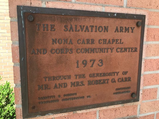 The Nona Carr Chapel and Corps Community Center were constructed in 1973 at 3rd Street and Gillis, made possible by a $275,000 donation by the Carr family.
