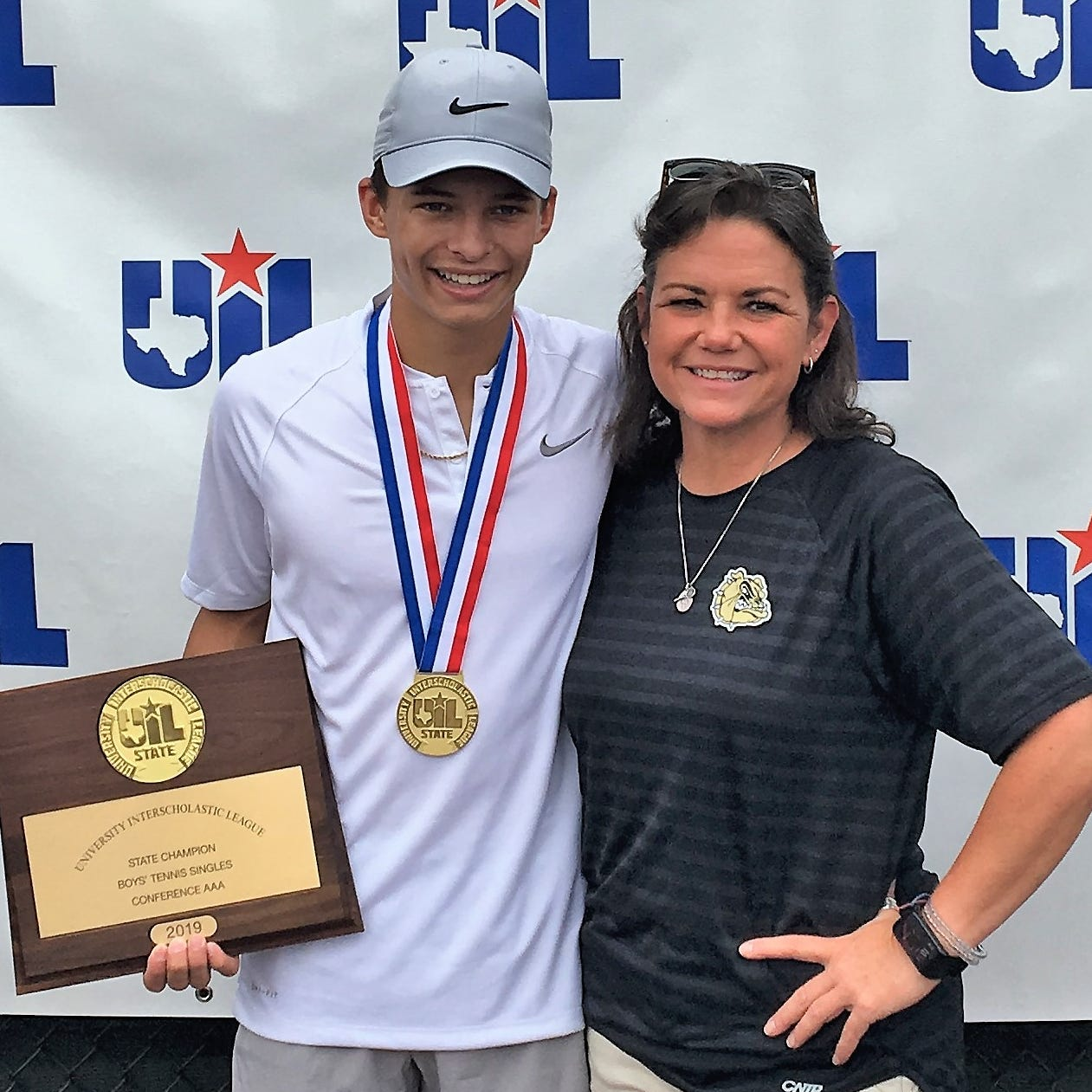 UIL STATE TENNIS ROUNDUP: Brady's Marshall, Wall boys doubles defend titles
