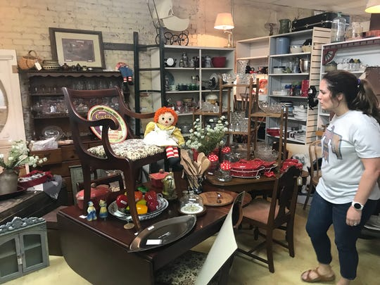 Thirty vendors have collections for sale at Concho Confetti Antiques Mall at 42 E. Concho Ave. in San Angelo.