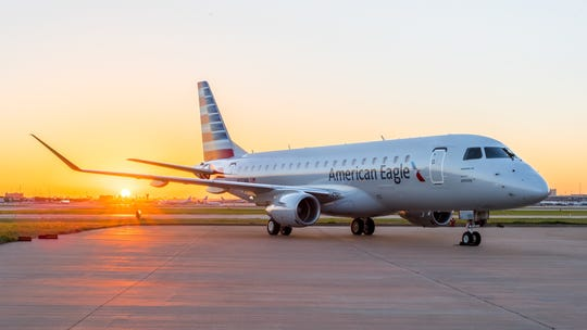 American Airlines adds an early morning flight from San Angelo to Dallas-Fort Worth on the ERJ-175. Flight is set for June 7, 2019.