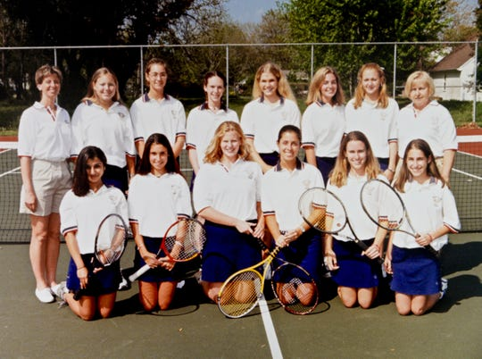 The 2009 Worcester Prep tennis team which went 7-1 and won an ESIAC title.