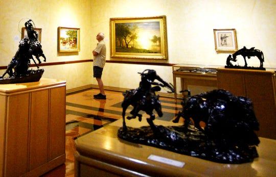 Inside the R.W. Norton Art Gallery in Shreveport, Louisiana.