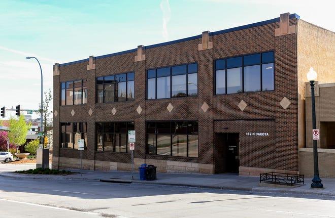 132 S Dakota Ave. is the proposed site for a new triage clinic, seen here Thursday, May 16, in downtown Sioux Falls. The building currently houses the city's Department of Innovation and Technology, which will be moved to a new location.