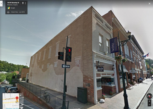 102 West Beverley Street will be home to a new mural funded by a state grant.