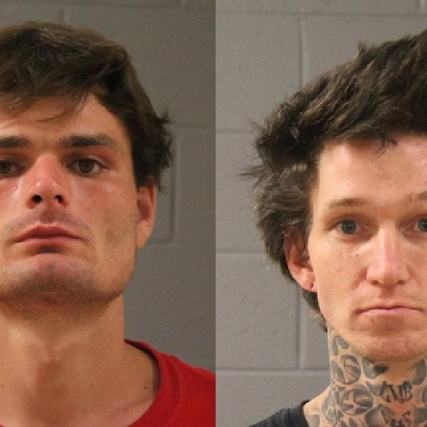 Police: St. George men in possession of meth, PCP arrested in vehicle arson case