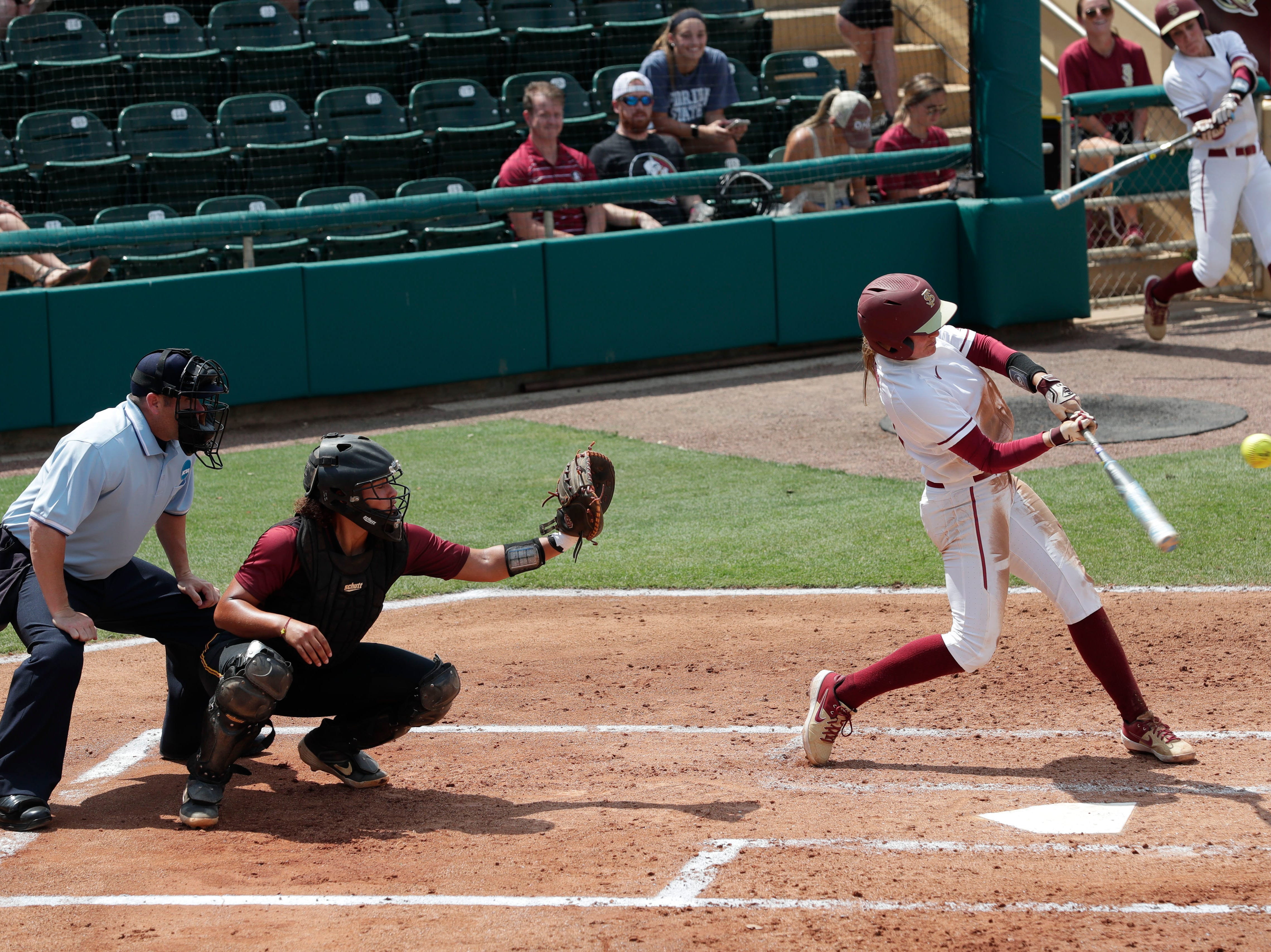 The Florida State Seminoles host the Bethune-Cookman Wildcats in the first round of the NCAA Regional Playoffs Friday, May 17, 2019.