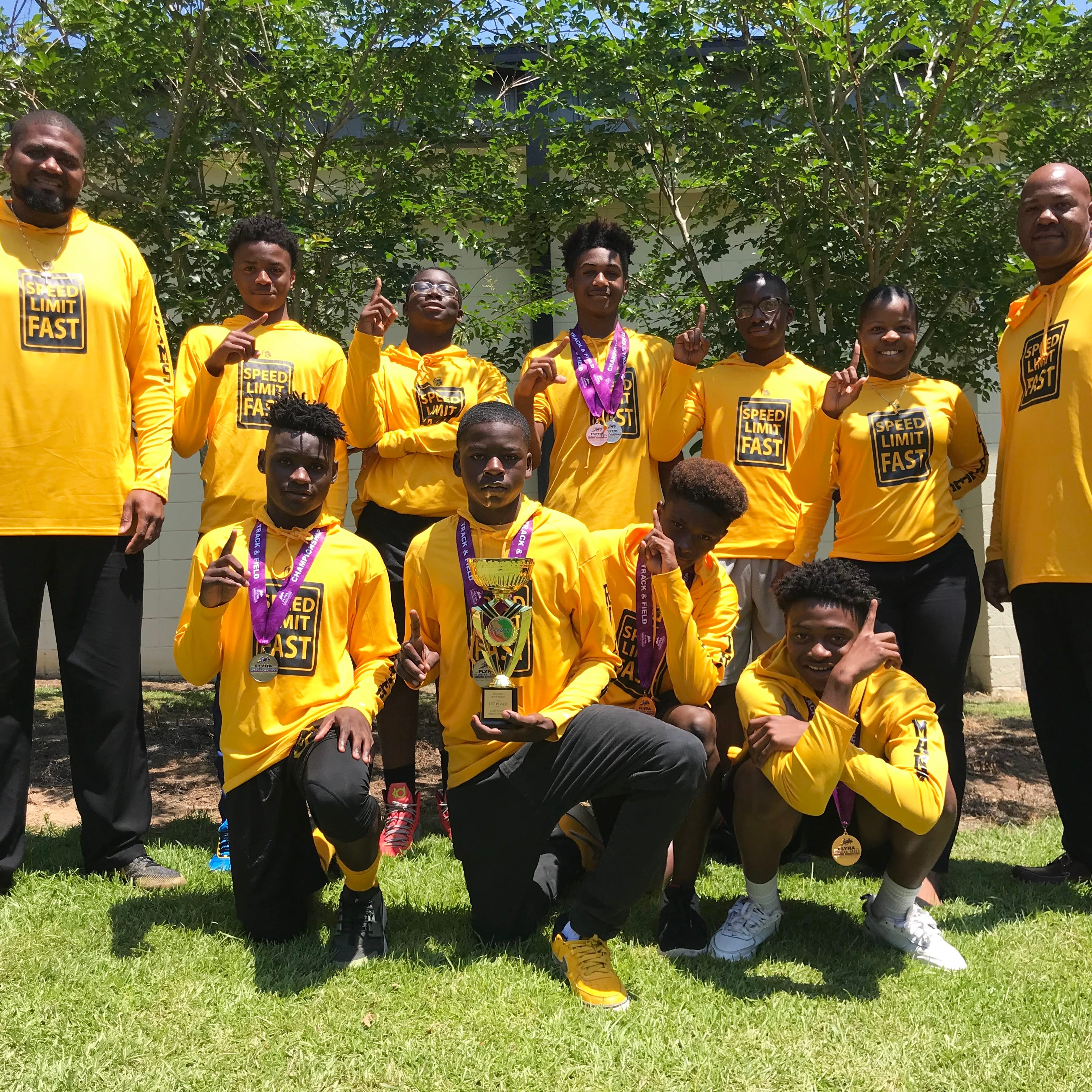 History Class: Nims Middle School wins first-ever state track & field championship