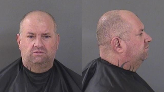 Jason Himmer, 46, of Indialantic, was charged with sexual battery in Indian River County after deputies said he raped a woman while on bail for felony battery in Brevard.