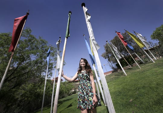 Brittany De Santiago, a Psychology major, will graduate from UTEP Saturday.