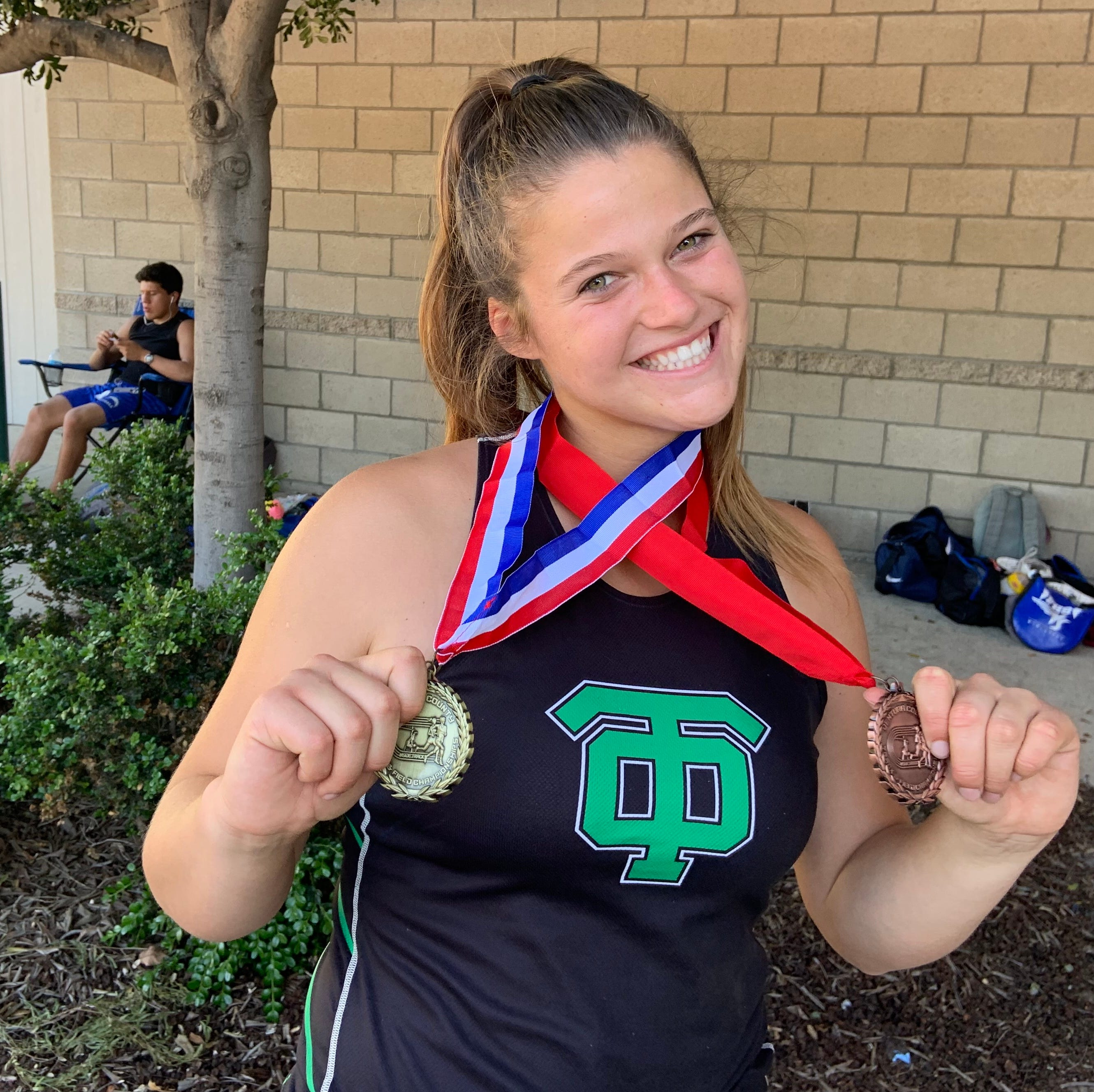 Thousand Oaks High senior Amanda Spear has found her groove and saved her throwing career