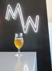Trap Door is a dry-hopped lager inspired by the new MadeWest Brewing Co. taproom inside Beach House Pier on the Ventura Pier. It is also available at the brewery's original location at 1744 Donlon St. in Ventura.