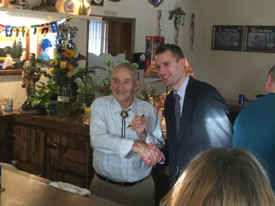 Wally Rozella received the key to the city of Mosinee in March 2017 for his 90th birthday. It was a symbolic gesture to recognize his efforts in the community.