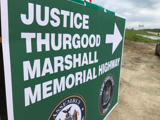 State legislation would name a stretch of Route 17 in western Ramapo for U.S. Supreme Court Justice Thurgood Marshall, who helped desegregate schools in Hillburn.