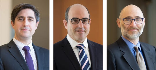Dr. David Altschul, Dr. Allan Brook and Dr. Daniel Labovitz of Montefiore